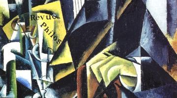lioubov popova portrait dun philosophe 1915