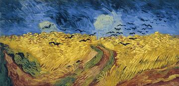 vincent van gogh  wheatfield with crows